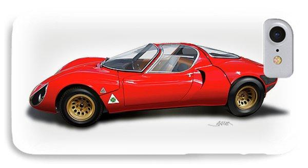 Alfa Romeo 33 Stradale 1967 IPhone Case