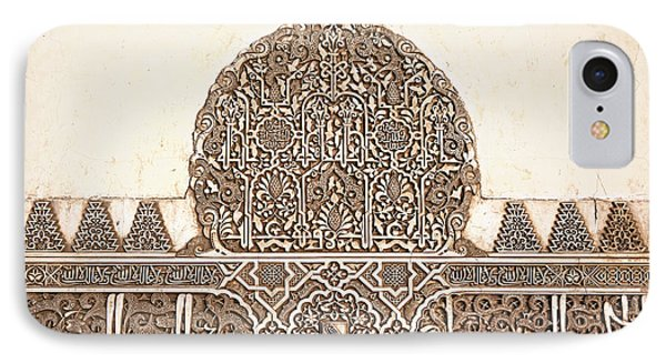 Alhambra Relief IPhone Case