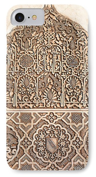 Alhambra Wall Panel Detail IPhone Case
