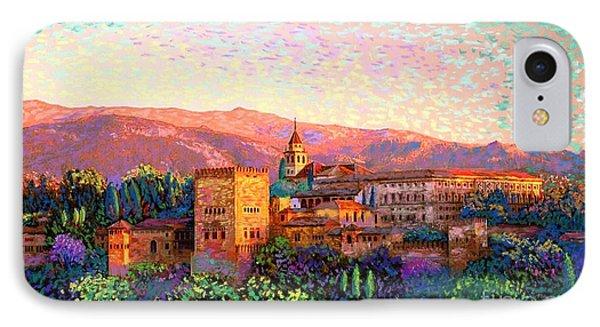 Alhambra, Grenada, Spain IPhone Case