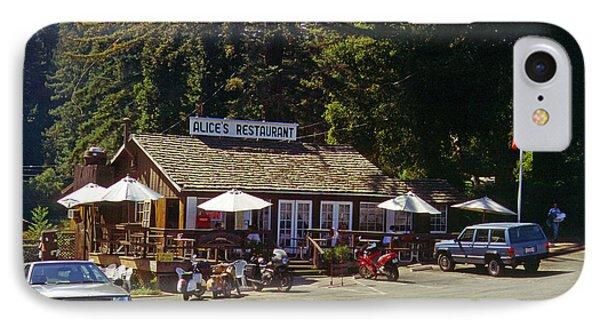 Alices Restaurant IPhone Case