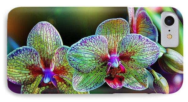 Alien Orchids IPhone Case