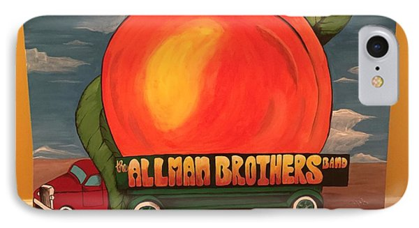 Allman Brothers Eat A Peach IPhone Case