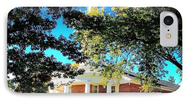 Alma College Dunning Memorial Chapel IPhone Case