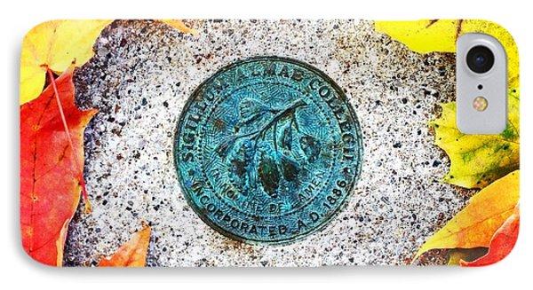 Alma College Seal IPhone Case