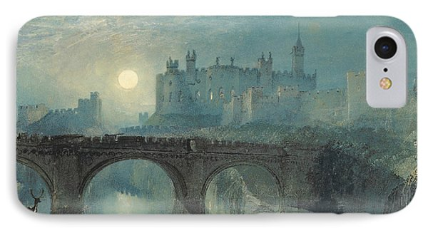 Castle iPhone 8 Case - Alnwick Castle by Joseph Mallord William Turner