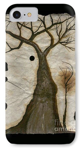 Along The Crumbling Fork In The Road Of The Tree Of Life Acfrtl IPhone Case