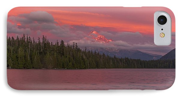 Alpenglow At Lost Lake IPhone Case