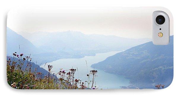 Alpine Flora On Top Of Schynige Platte IPhone Case