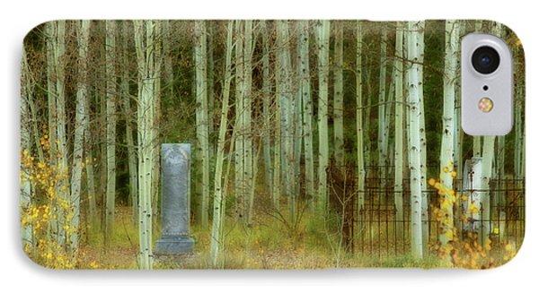 Alvarado Cemetery 41 IPhone Case