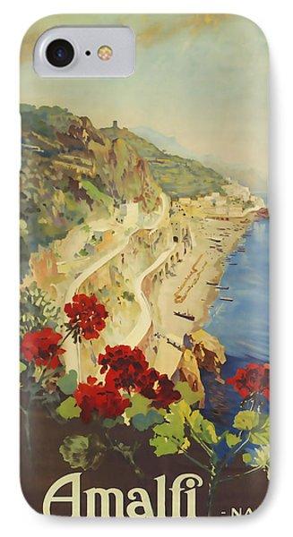 Amalfi Napoli IPhone Case
