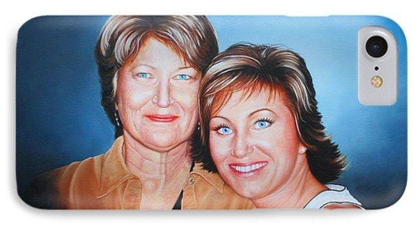 Amanda And Mom IPhone Case