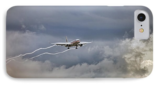 American Aircraft Landing IPhone Case