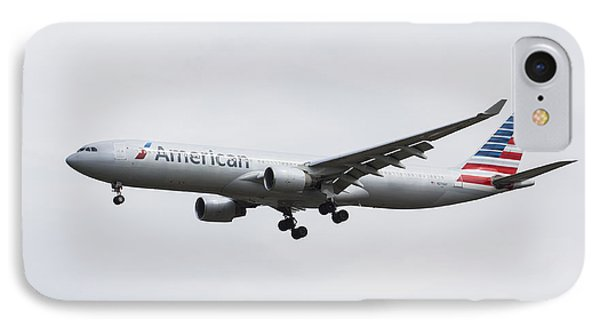 American Airlines Airbus A330 IPhone Case