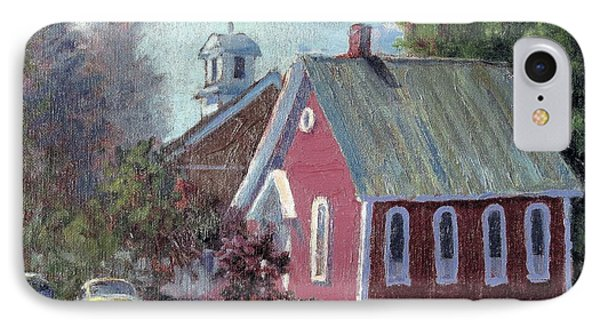 Amherst Chapel IPhone Case