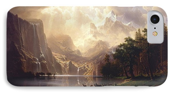 Among The Sierra Nevada, California, 1868 IPhone Case