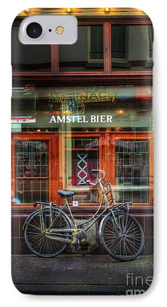 Amstel Bier Bicycle IPhone Case