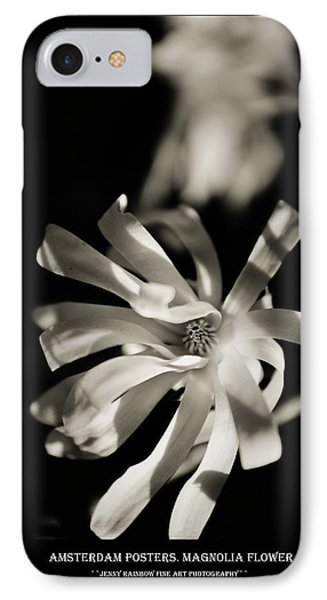 Amsterdam Posters. Magnolia Flower IPhone Case
