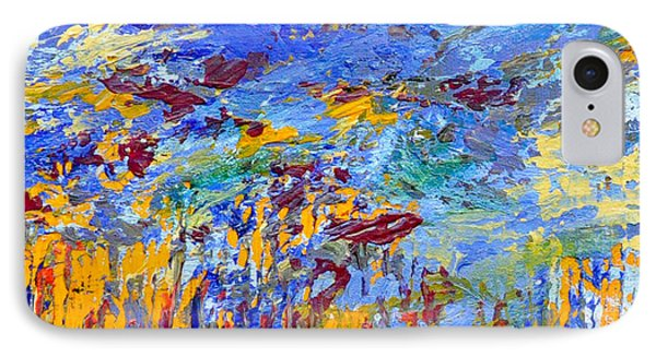 An Abstract Vision Under The Sea IPhone Case