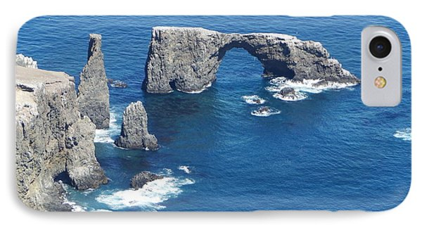 Anacapa Island Arch Rock IPhone Case