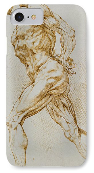 Nudes iPhone 8 Case - Anatomical Study by Rubens