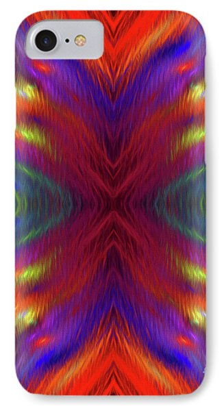 IPhone Case featuring the digital art Andee Design Abstract 1 2015 by Andee Design
