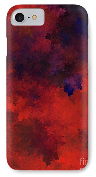 IPhone Case featuring the digital art Andee Design Abstract 73 2017 by Andee Design