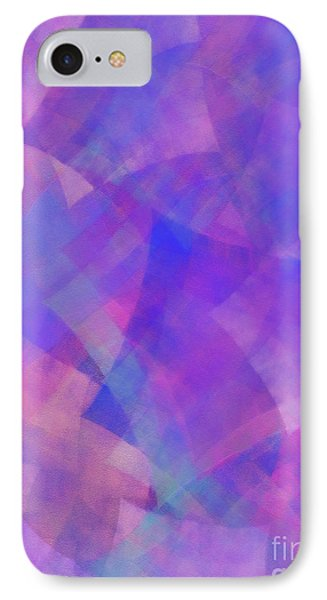 IPhone Case featuring the digital art Andee Design Abstract 75 2017 by Andee Design