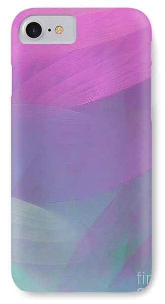 IPhone Case featuring the digital art Andee Design Abstract 85 2017 by Andee Design