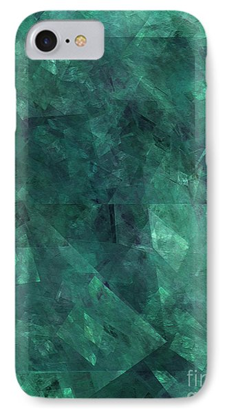 IPhone Case featuring the digital art Andee Design Abstract 97 2017 by Andee Design