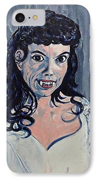 Andree Melly As Gina In The Brides Of Dracula  IPhone Case