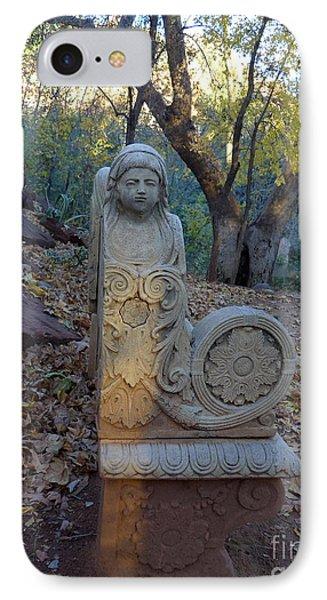 Angel Bench Autumn Sedona IPhone Case