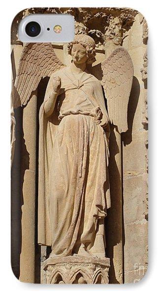 Angel In Reims IPhone Case