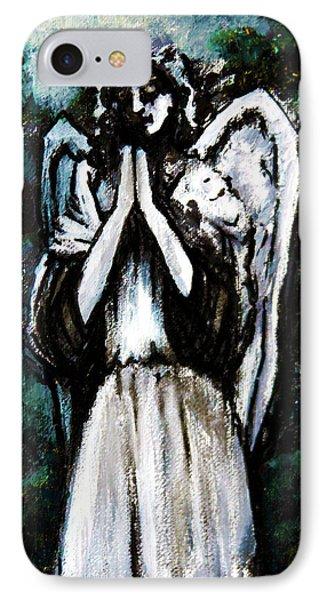 Angel In The Garden IPhone Case