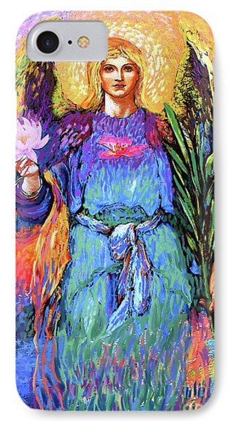 Lily iPhone 8 Case - Angel Love by Jane Small