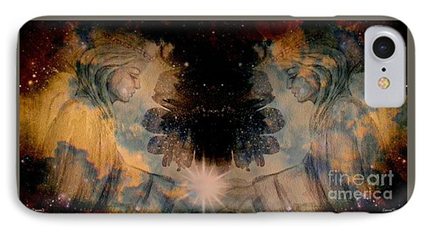 Angels Administering Spiritual Gifts IPhone Case
