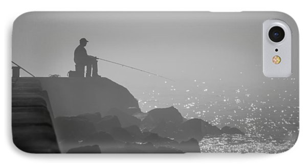 Angling In A Fog  IPhone Case