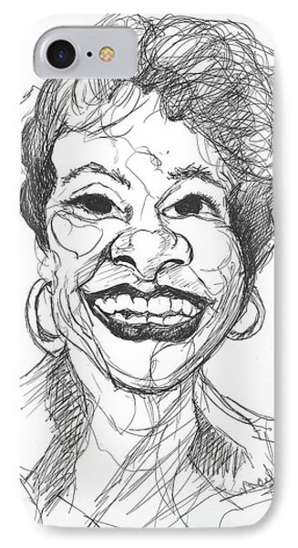Annette Caricature IPhone Case