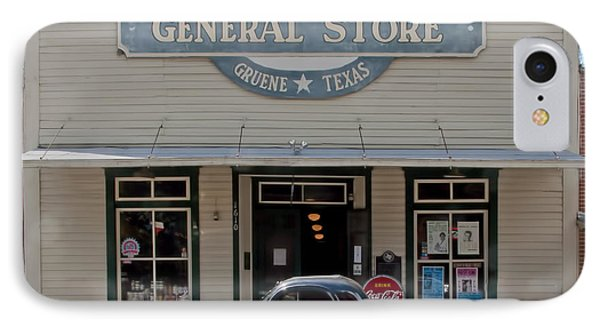 Antique Car At Gruene General Store IPhone Case