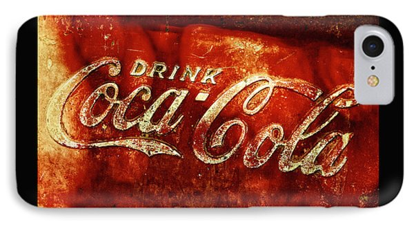 Antique Coca-cola Cooler II IPhone Case