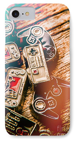 Antique Gaming Consoles IPhone Case