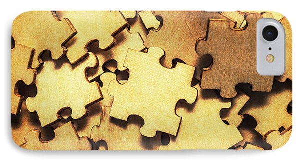Antique Puzzle Of Missing Links IPhone Case