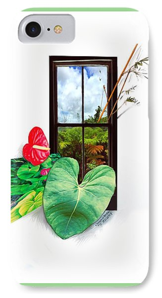 Anthurium 2 IPhone Case