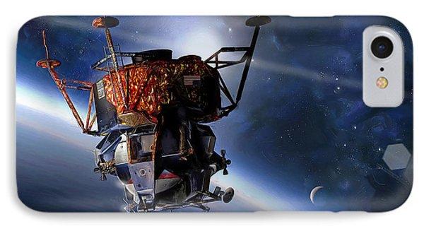 Apollo 9 Lunar Module IPhone Case