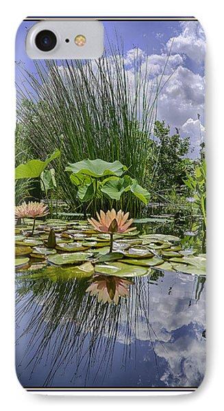 Arboretum Pond IPhone Case