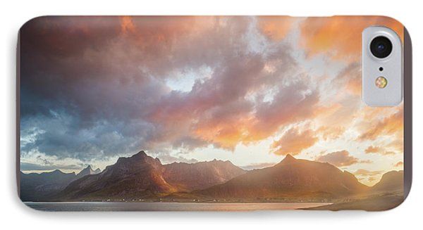 Arctic Susnset IPhone Case