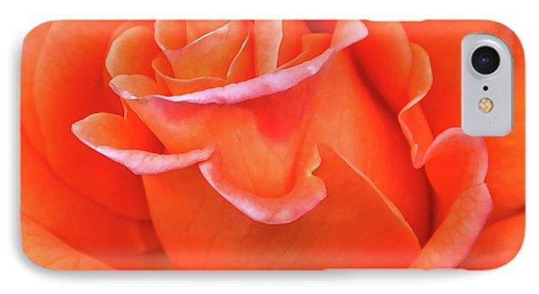 Arizona Territorial Rose Garden - Orange Flame IPhone Case