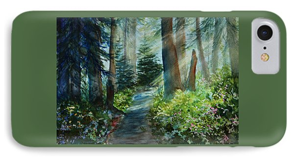 Around The Path IPhone Case