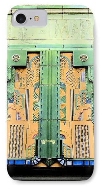 Art Deco Facade At Old Public Market IPhone Case