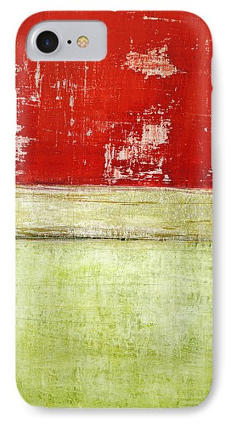 Art Print Rotgelb IPhone Case